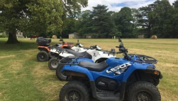 randonnée en quad activité