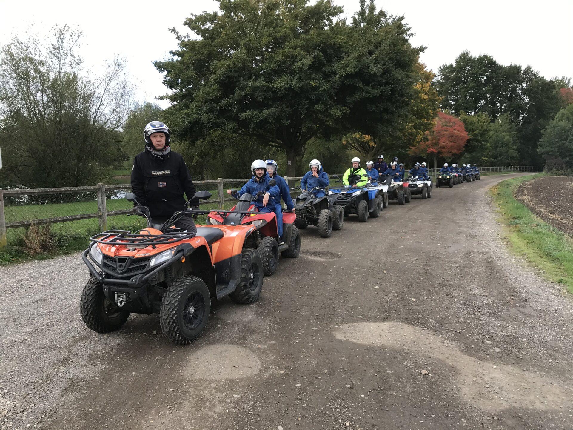 randonnée en quad moniteur